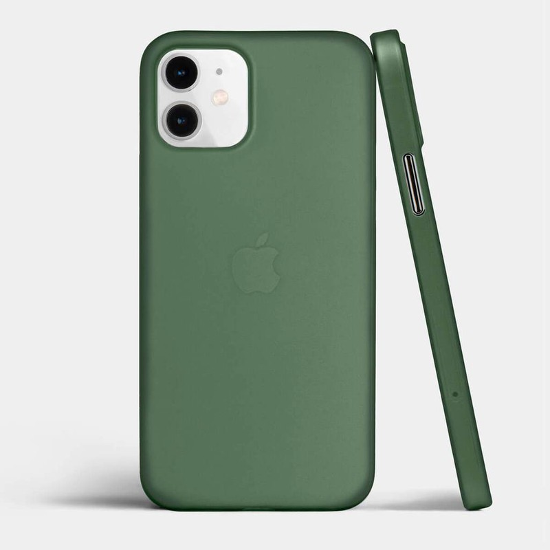 slim iPhone 12 case green  totallee